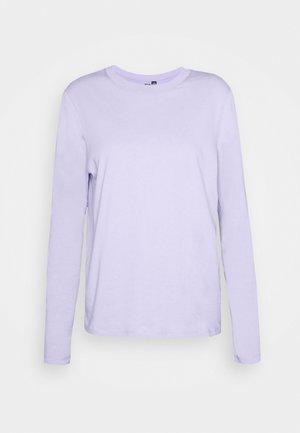 PCRIA SOLID TEE - T-shirt à manches longues - lavender