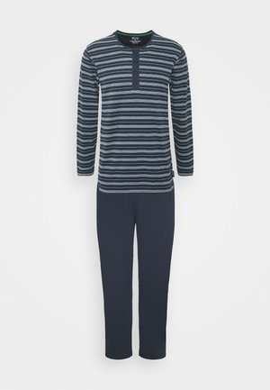 Pyjamas - blue-dark-stripes