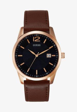 MENS DRESS - Klokke - brown/gold-coloured/blue