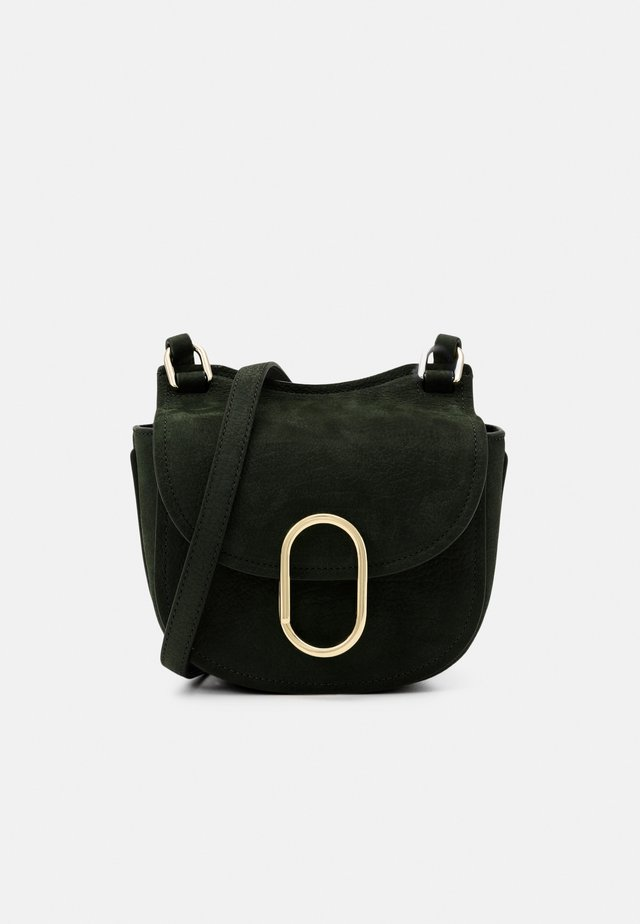 ALIX MINI HUNTER - Schoudertas - dark green