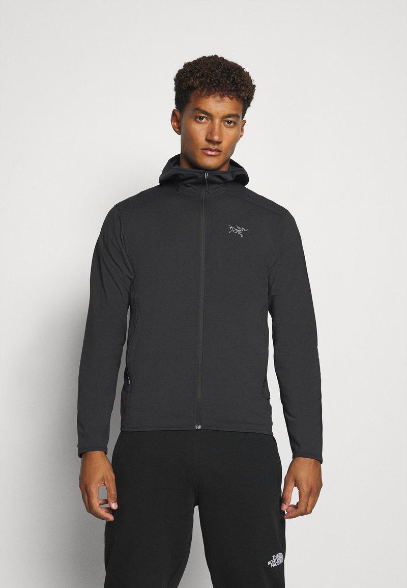 Arc'teryx - KYANITE LT HOODY MENS - Fleece jacket - black