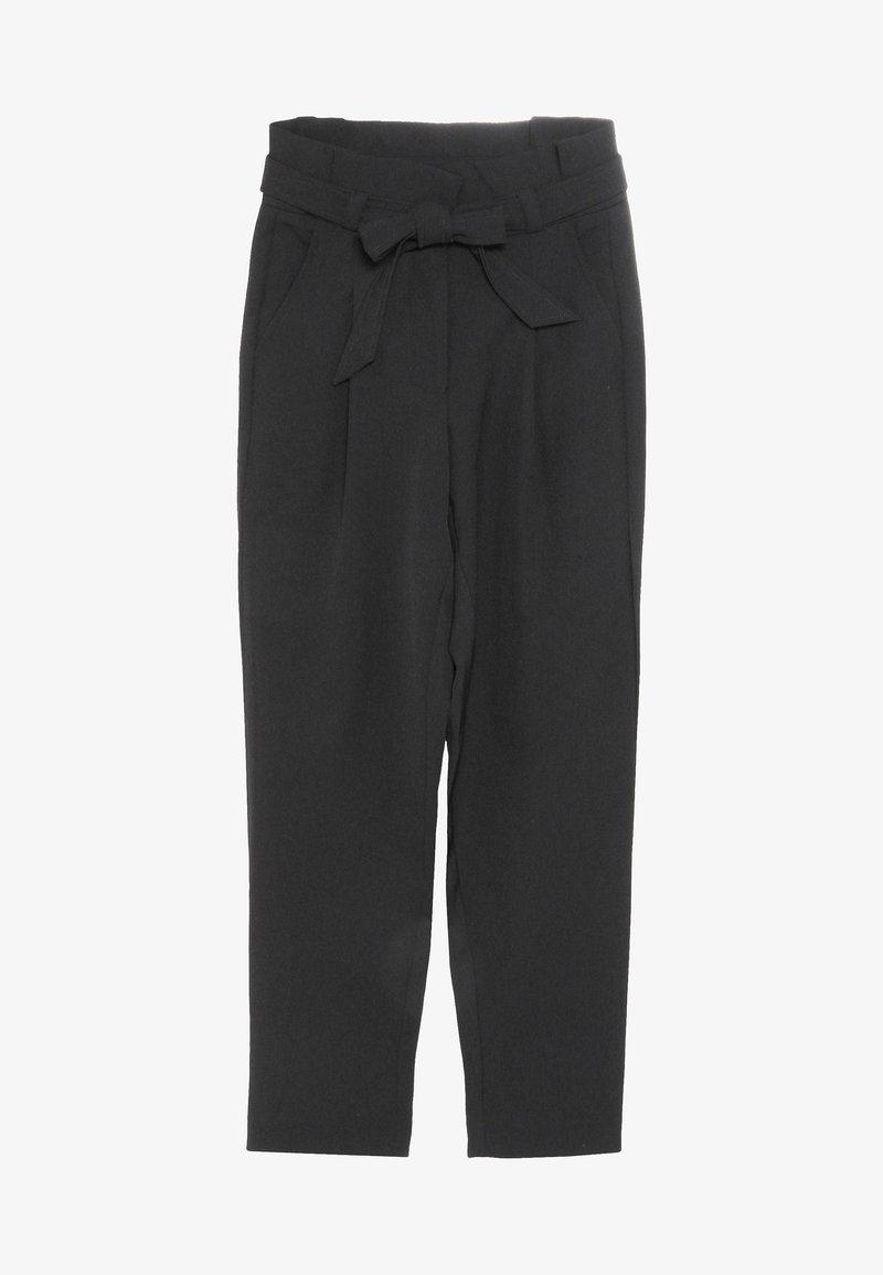Grunt - LARKE ANKLE PANT - Kalhoty - black