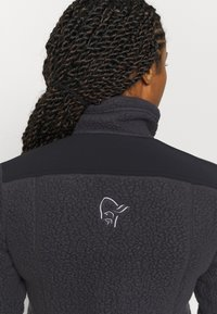 Norrøna - TROLLVEGGEN THERMAL PRO JACKET - Fleece jacket - dark grey - 3