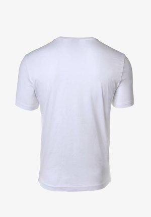 CREW NECK, RUNDHALS, COTTON  - Print T-shirt - weiß