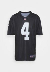 Nike Performance - NFL OAKLAND RAIDERS DEREK CARR LEGEND TEAM COLOUR - Klubové oblečení - black - 4