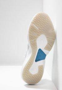Reebok - SOLE FURY TS - Sports shoes - grey/white/cyan - 4