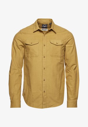 Shirt - cinnamon moleskin