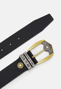 Versace Jeans Couture - Cinturón - black/gold-coloured/silver-coloured - 1
