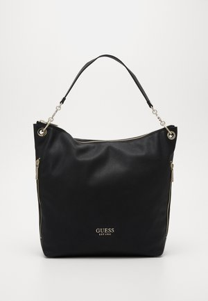 CHAIN LARGE HOBO - Cabas - black