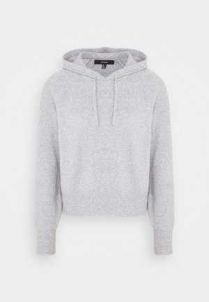 VMDOFFY HOOD - Hoodie - light grey melange