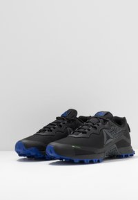 Reebok - ALL TERRAIN CRAZE - Trail running shoes - black/cold grey/cobalt - 2