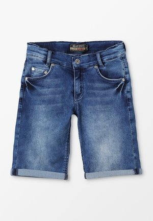 BOYS BASIC - Denim shorts - blue medium