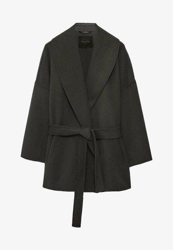 HANDGEFERTIGTER  - Short coat - grey