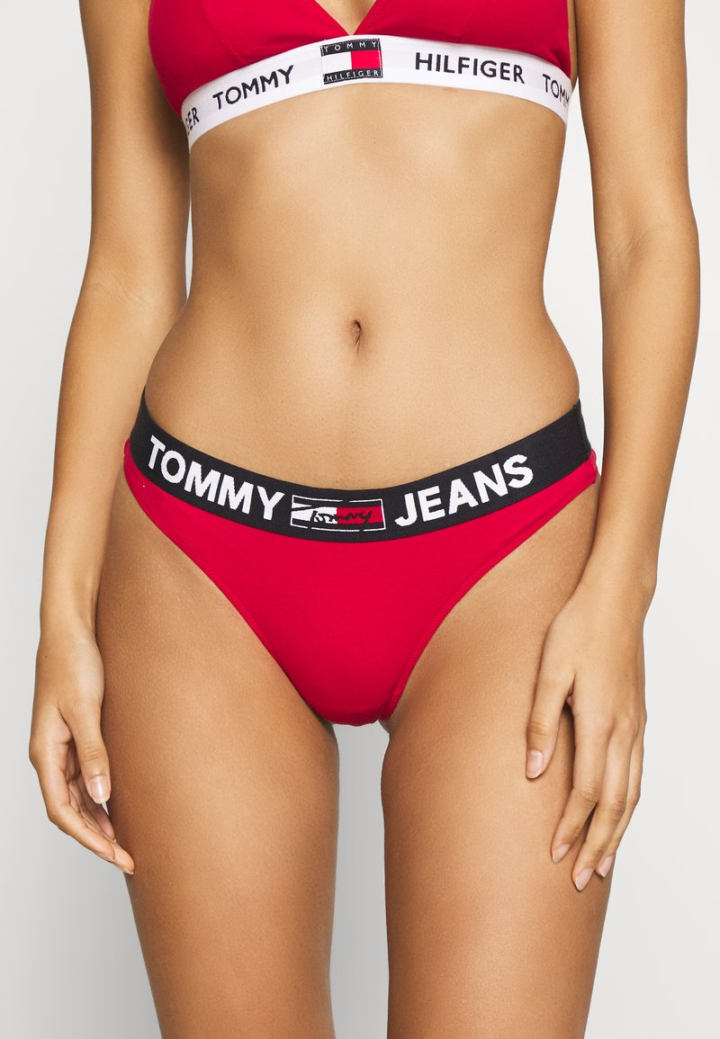 Tommy Hilfiger - THONG - Stringit - primary red