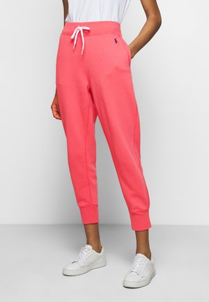 SEASONAL - Tracksuit bottoms - amalfi red