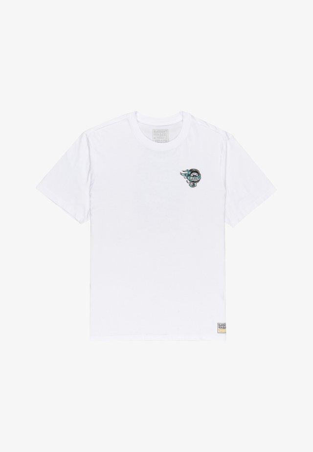 ANTIDOTE STATE  - T-shirt con stampa - optic white