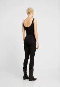Even&Odd Tall - 2 PACK - Leggings - black - 3
