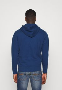 Levi's® - NEW ORIGINAL ZIP UP - Huvtröja med dragkedja - blues
