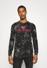 Hollister Co. - ICONIC - Långärmad tröja - black wash - 0