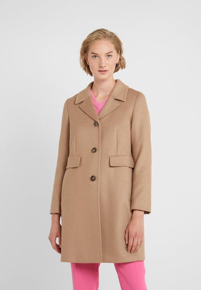 DESY - Short coat - kamel