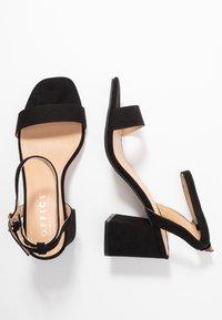 Office Wide Fit - MILLIONS WIDE FIT - Sandals - black - 3
