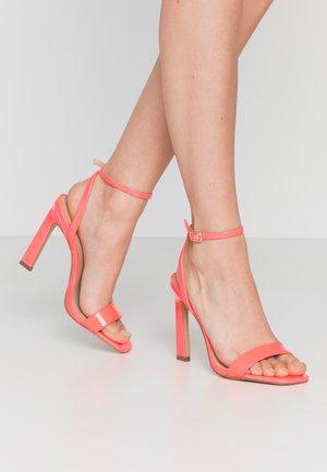 GORGEOUS - Sandales à talons hauts - bright pink