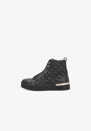 WITH LOGO - Zapatillas altas - black