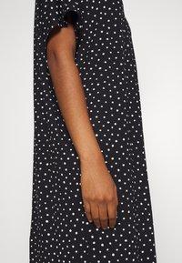 Monki - ROMA DRESS - Jerseykjole - black - 6
