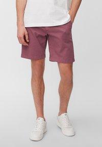 Marc O'Polo - SALO SLIM AUS STRETCH-DOBBY - Shorts - acai - 0