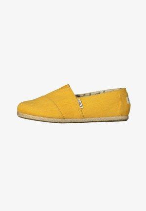 CLASSIC ESSENTIAL  - Espadrilles - yellow