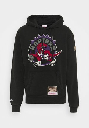 NBA TORONTO RAPTORS WORN LOGO HOODY - Club wear - black