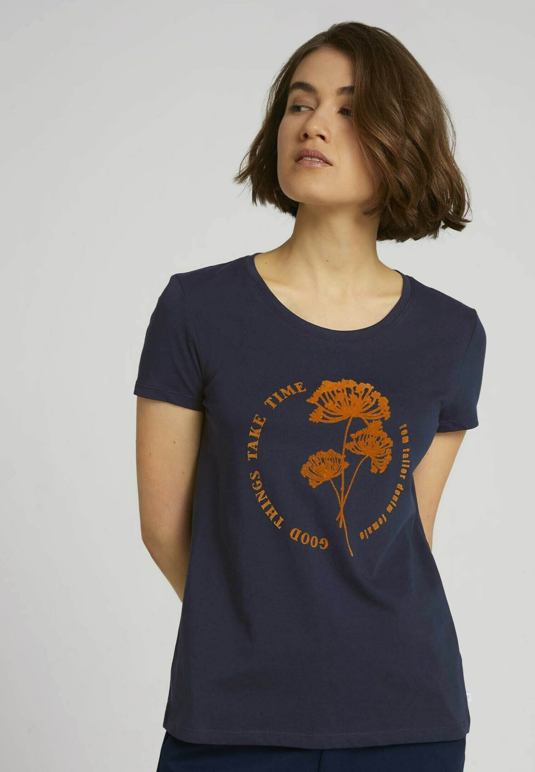 Femme FLOCK PRINT TEE - T-shirt imprimé