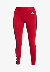 adidas Performance - SID - Collants - active maroon/legend ink - 4