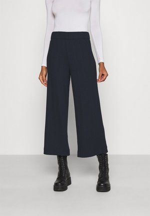 CILLA TROUSERS - Pantalones - blue dark