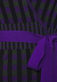 Diane von Furstenberg - EMILY WRAP - Neuletakki - purple/green - 6