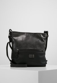 TOM TAILOR - ELIN CROSS BAG - Skuldertasker - schwarz - 0
