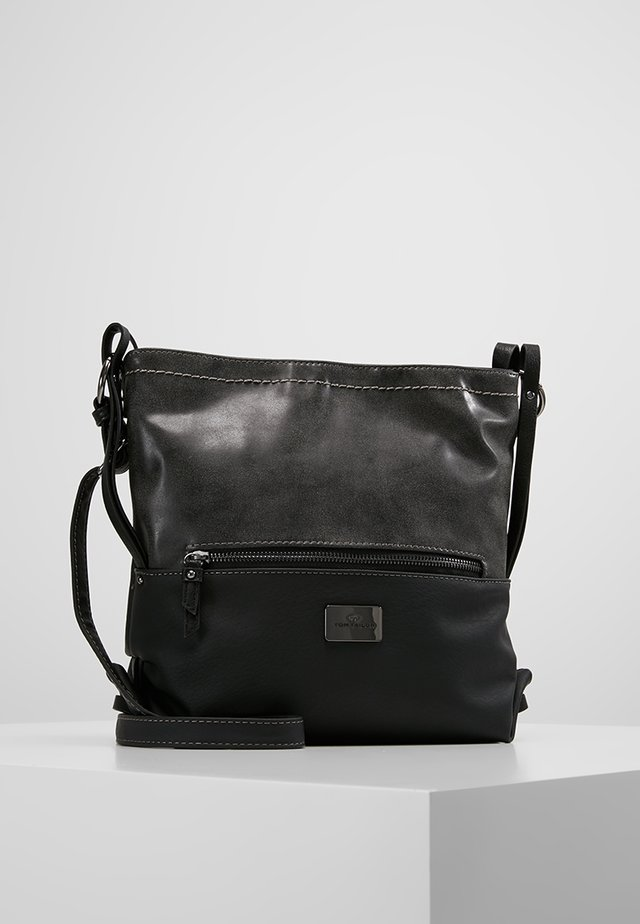 ELIN CROSS BAG - Skuldertasker - schwarz