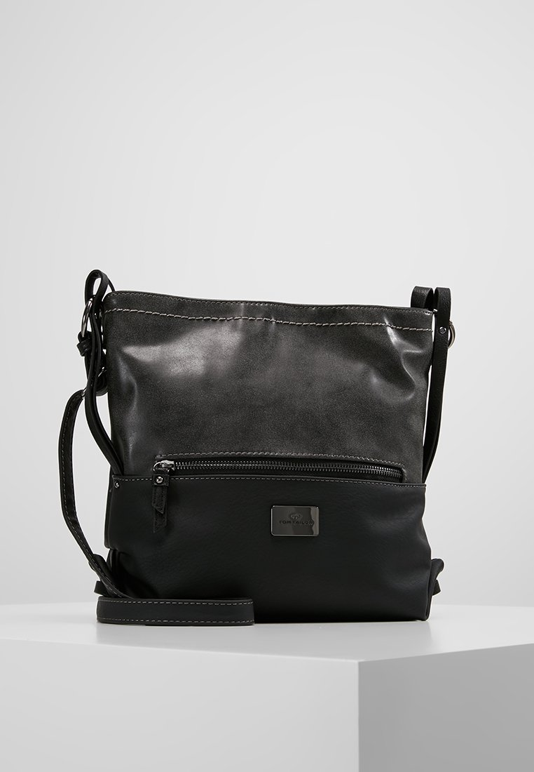 TOM TAILOR - ELIN CROSS BAG - Skuldertasker - schwarz