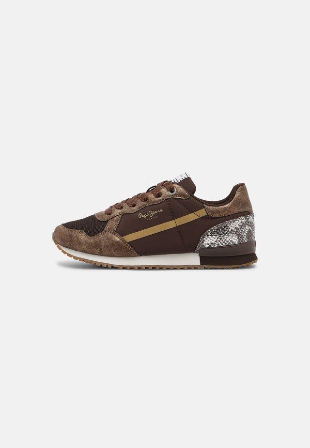 ARCHIE TOP - Sneakers laag - bronze