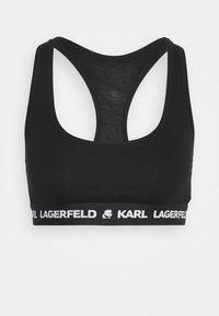 KARL LAGERFELD - LOGO BRALETTE - Bustier - black - 3