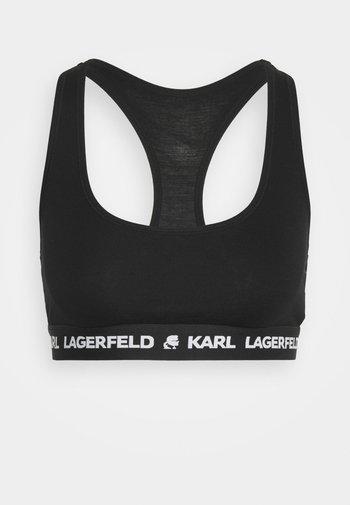 LOGO BRALETTE - Bustier - black