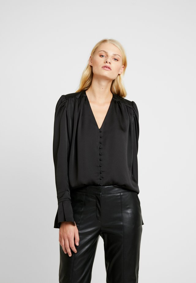 SENSE BLOUSE - Bluzka - black