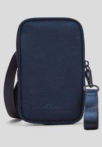 s.Oliver - Across body bag - dark blue - 4