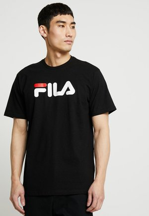 PURE TEE - Print T-shirt - black