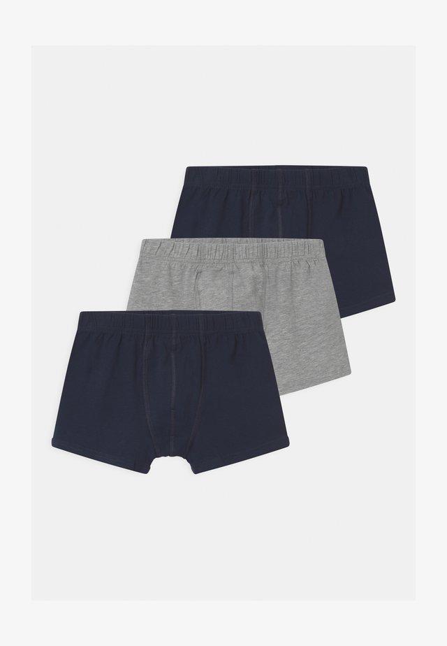 NKMTIGHTS 3 PACK - Panties - grey melange
