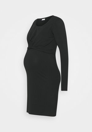 MLHELIA JUNE DRESS - Sukienka z dżerseju - black