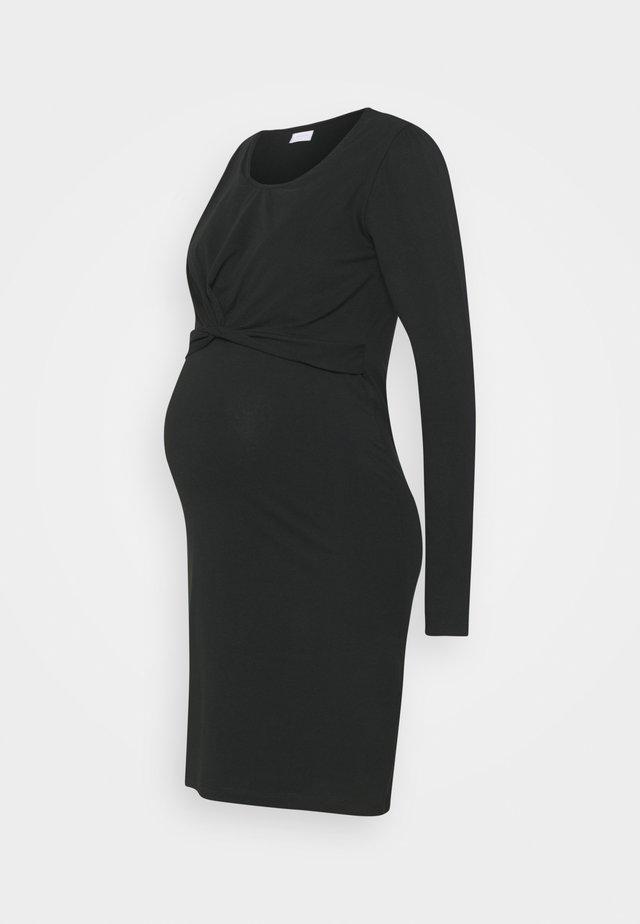 MLHELIA JUNE DRESS - Jerseykjoler - black