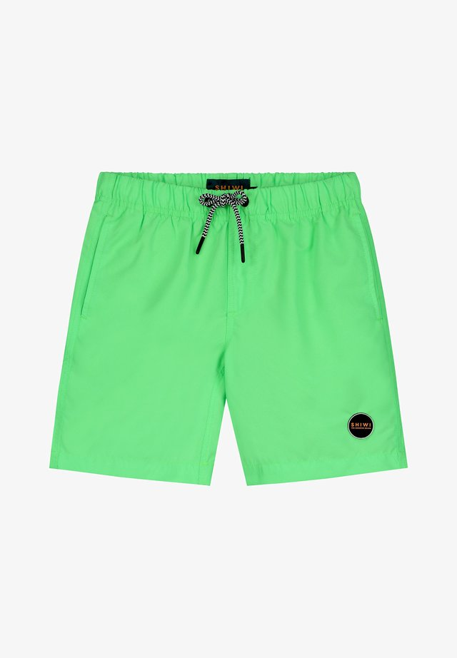 Swimming shorts - new neon green