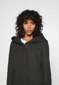 ONLY - ONLSEDONA - Krátký kabát - rosin melange - 3