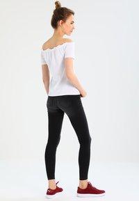 JDY - JDYSKINNY JAKE ANKLE - Jeans Skinny Fit - dark grey denim - 2